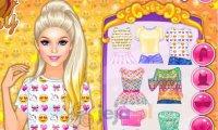 Barbie i ciuszki w emoji
