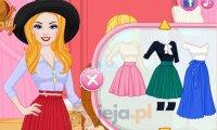 Jesienne stylizacje Barbie