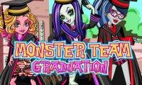 Monsterki kończą szkołę