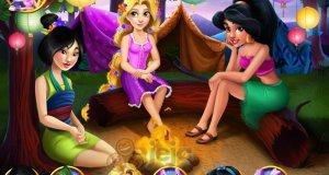 Księżniczki na obozie letnim