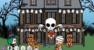 Dekorowanie domu na Halloween