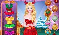 Świąteczna stylizacja księżniczki