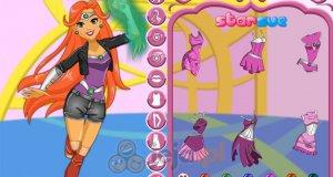 Starfire z DC Super Hero Girls