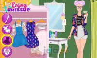 Barbie i stylizacja na weekend