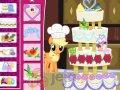 Tort ślubny w stylu My Little Pony