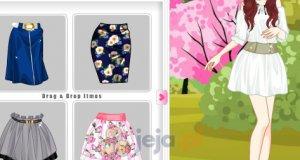 Wiosenne spódniczki