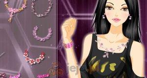 Różowa biżuteria