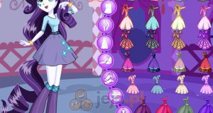 Rarity z Equestria Girls