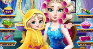 Elsa zostaje mamą