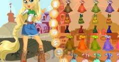 Applejack z Equestria Girls