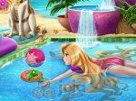 Roszpunka na basenie