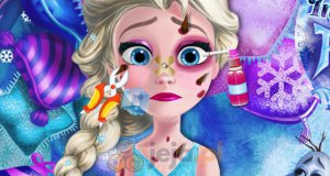 Zraniona Elsa