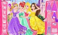 Księżniczki robią selfie