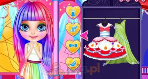Baby Barbie i kostiumy z My Little Pony