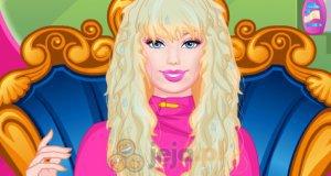 Balowa fryzura Barbie