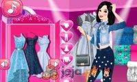 Księżniczki i modny jeans