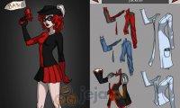 Kreator postaci: Harley Quinn