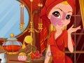 Makijaż ognistej księżniczki
