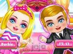 Mała Barbie i mały Ken