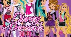 Księżniczki Disneya wybierają się do Monster High