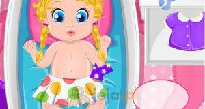 Kołysanie do snu córeczki Barbie