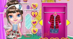 Baby Barbie - miłośniczka mody