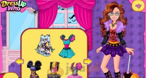 Barbie i Halloween w klimacie Monster High