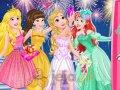 Księżniczki i ślubne przyjęcie