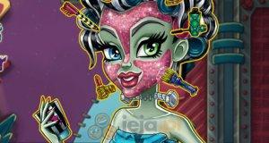 Prawdziwy makijaż Frankie Stein