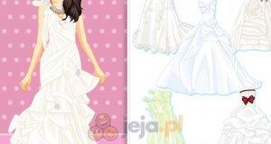 Suknie ślubne z kokardami