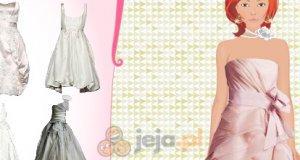 Olśniewająca suknia
