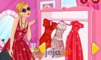 Barbie na czerwono