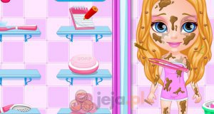 Brudna mała Barbie