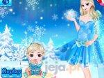 Elsa z dziećmi