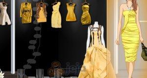 Żółte sukienki