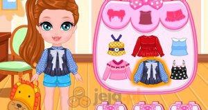 Baby Barbie szykuje się do szkoły