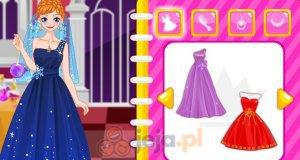Elsa i Anna na balu