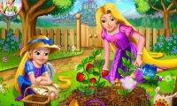 Roszpunka w ogrodzie