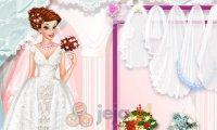 Księżniczki w salonie sukien ślubnych