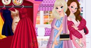 Elsa i Anna na imprezie