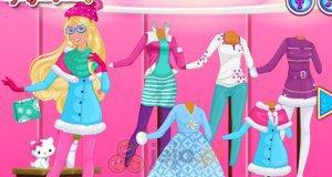 Barbie i świąteczne trendy