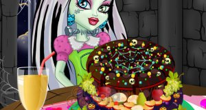 Monster High - Owocowy tort