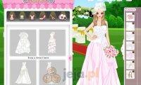 Kwiatowe suknie ślubne