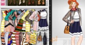 Ubrania w paski