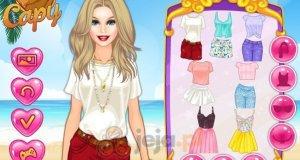 Barbie i zdjęcia z wakacji