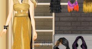 Suknie z frędzlami
