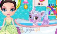 Mała Barbie z pupilami