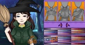 Kreator postaci: Młoda czarownica