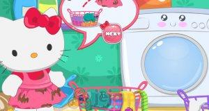 Pranie Hello Kitty