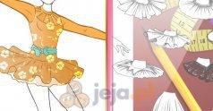 Projektowanie - Sukienka dla baleriny
